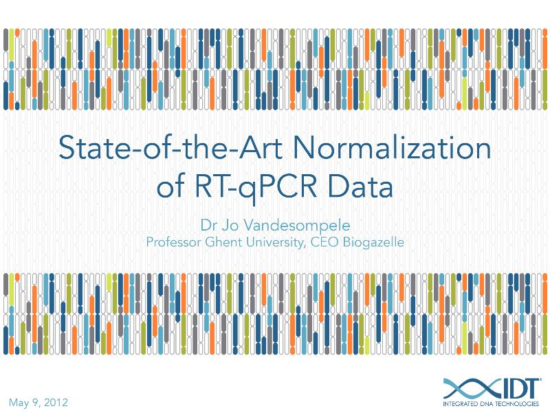 State-of-the-artnormalizationofRT-qPCRdata